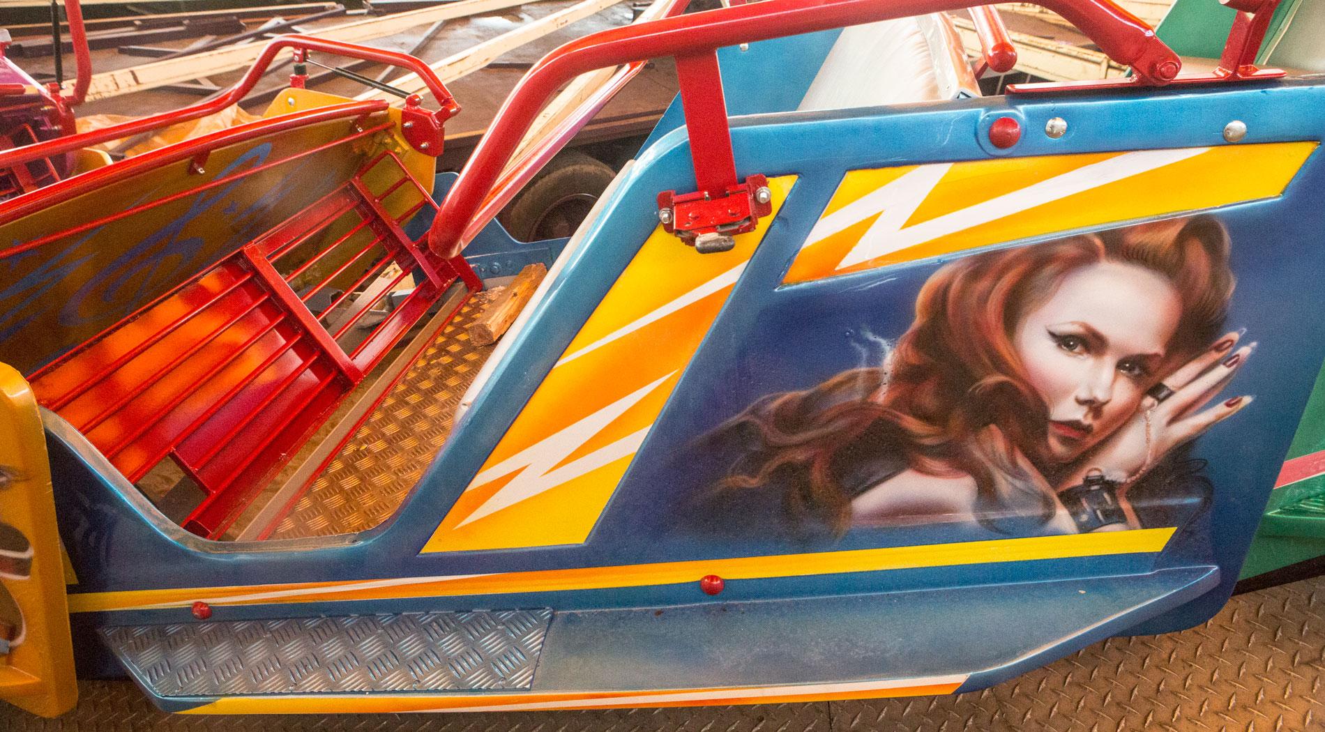 Disco Jet Cars. EventursLandet, Halmstad.