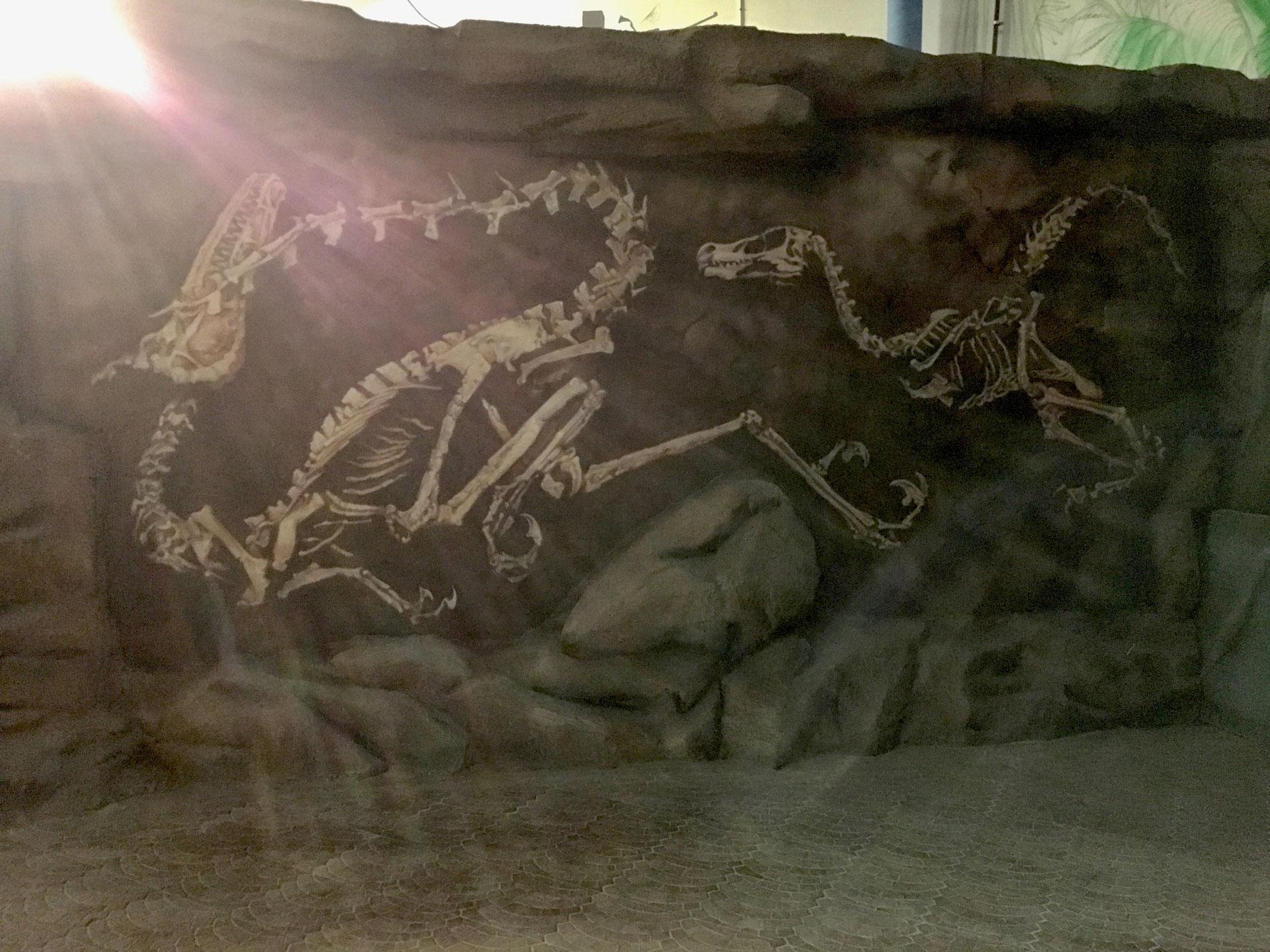 Dinosaurie. Exploria, Stockholm