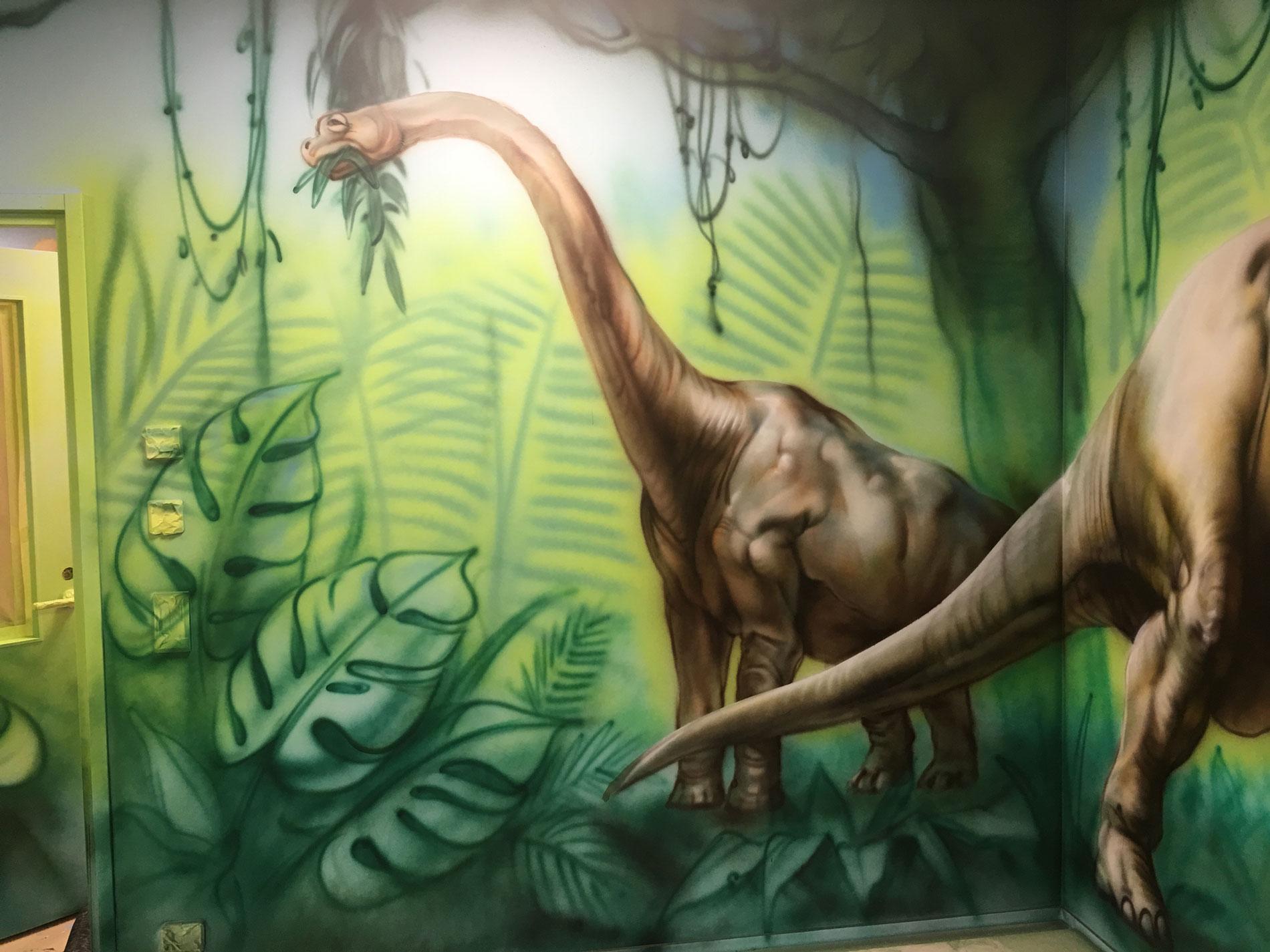 Dinosaur Party Room. Jyväskylä, Finland.