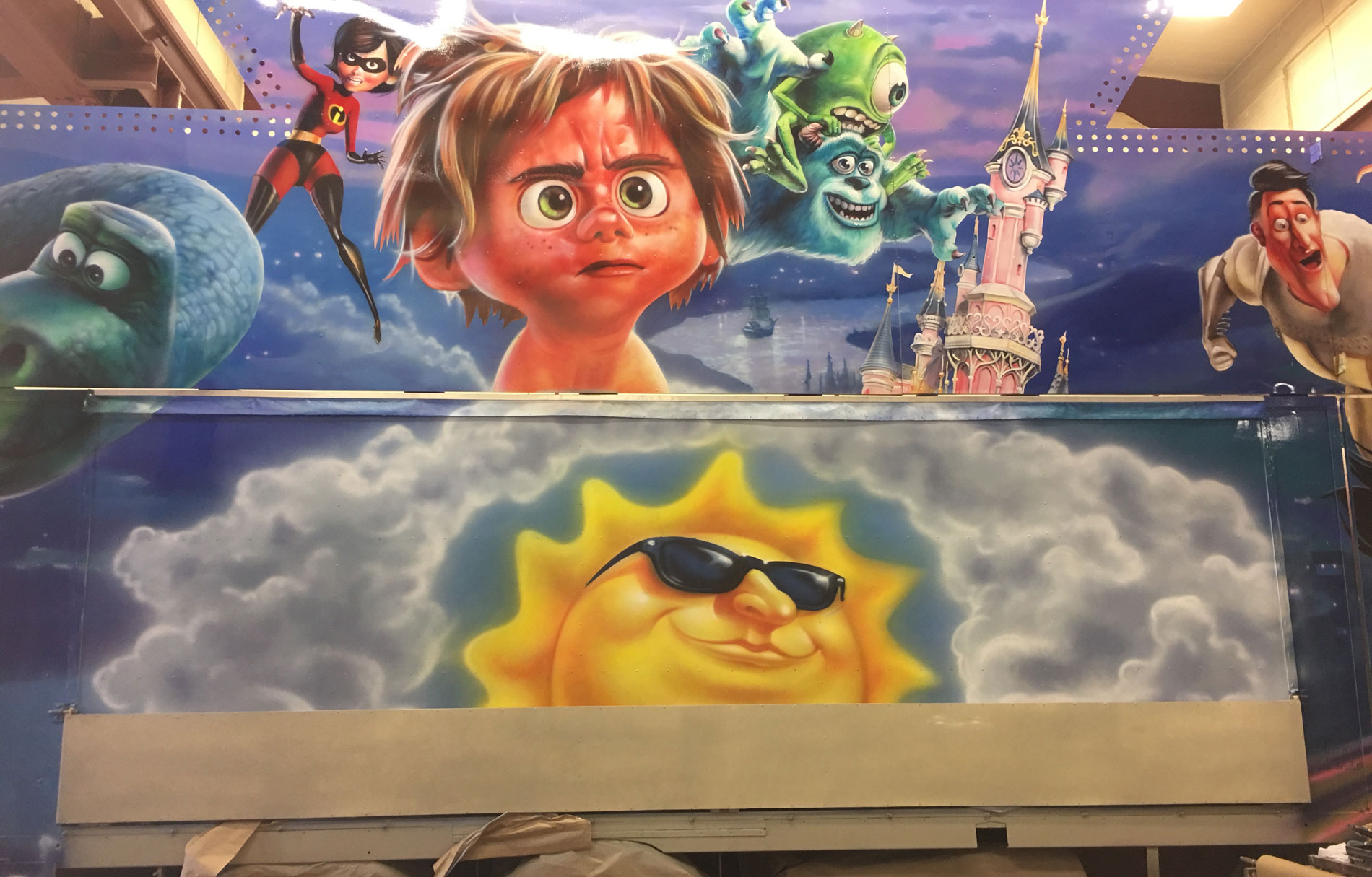 Disney Kiosk. Kalasbolaget.