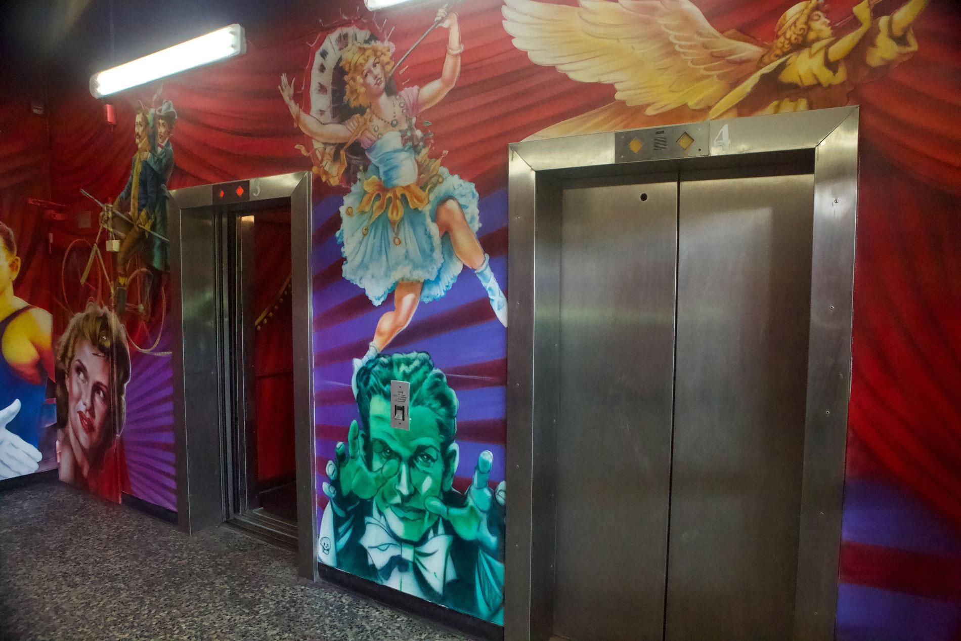 Elevator Aria. Exploria, Stockholm.