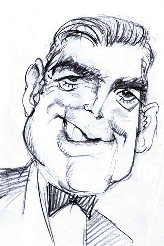 George Clooney by Sergej Sattariov