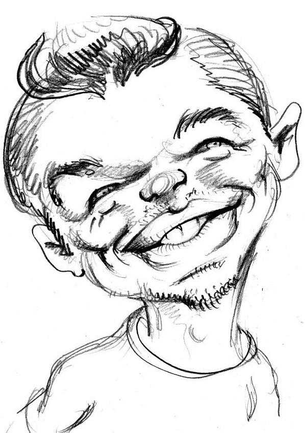 Leonardo DiCaprio by Sergej Sattariov