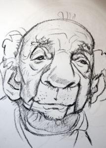 Old Man by Sergej Sattarov