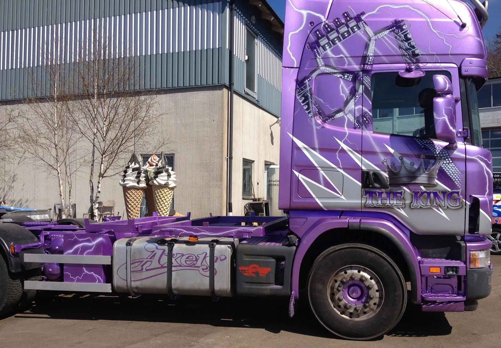 The King Lorry. Axels Tivoli.